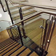 Delta Balustrades products for Mid Cheshire College